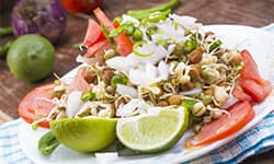 Rajma Bean Sprouts & Spring Onion Salad