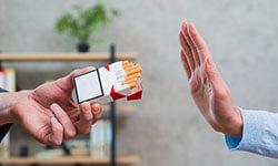 Say no to nicotine