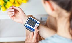 Portable blood pressure machines