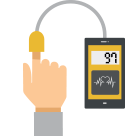 BP and health check-up icon