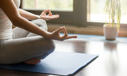 Meditation helps in the management of hypertension