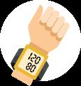 Portable BP monitor icon