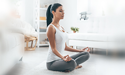 Yoga to manage stress