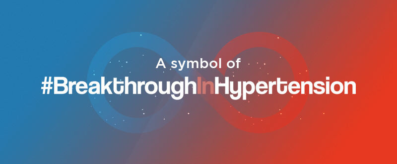 World's First Symbol for Hypertension Awareness